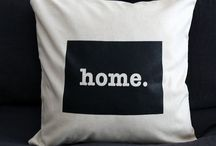 The Home T Pillow / The Home T Pillow is the perfect way to show off your state pride in your home, while also helping to raise money for multiple sclerosis research. Our swanky 22 x 22 pillow is made out of a high-quality fabric and comes with a hidden zipper. No matter if you want to use it in your bedroom, living room, or office, you can be confident that it will look great.