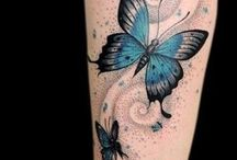 Láb tetoválások