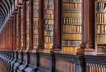 Könyvtárak, könyvesboltok