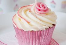 Cupcakes and food