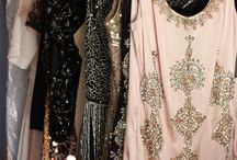 Haute couture beading and embroidery