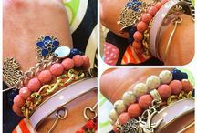Kimba Likes Arm Parties / Arm Parties - classic cuffs, beautiful bangles and bracelets combined for an arm party!