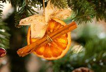 Narancs, fahéj ,karácsony