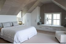 Sloped wall bedrooms