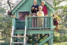 Casa de madeira / Para criança