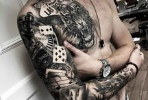 Jones Tatoo / Organising a sleeve for myself..