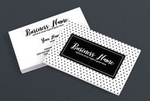 Stylish Business Cards / Discover stylish business cards to help you take your visual brand to the next level. Find the stylish business card design that will give you a professional branded appearance.  Shop stylish business cards on RhondaJaiDesigns.com Get 10% Off with discount code PINTEREST10