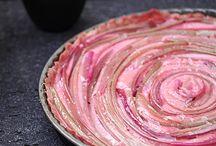 Rhabarber tarte / Rezepte