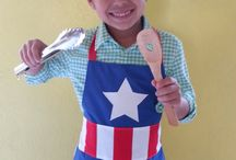 delantal cocina kids