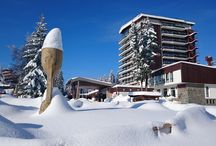 Murgavets Grand Hotel ★★★★ / The four star Murgavets Grand Hotel is located in the heart of the Rhodope Mountains, in the very center of the sunny ski-resort of Pamporovo.