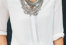 Statement necklace / by Katy Grimm