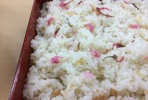 Traditional Japanese Food / Traditional Japanese dishes cooked by Japanese older farmer.