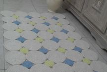 tapetes crochê