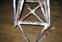 bouwen met kranten