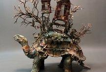 sculptures / by mongkih