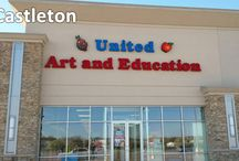 United Art & Education Retail Stores