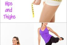 exercises hips and thighs