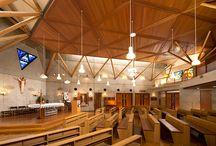 Church / St. Viator Kitashirakawa Catholic Church   京都 カトリック聖ヴィアトール北白川教会 (許可を頂きお写真を撮らせて頂きました。)
