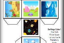 story telling dice/mesekocka
