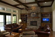 family room / by Kristen Mason