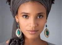attaché foulard/pagne