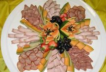 Mat och Frukt Dekorationer