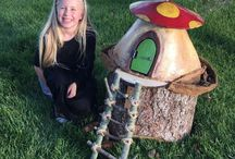Gnome Homes and Fairy Houses Etc