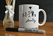 sharpie diy mugs