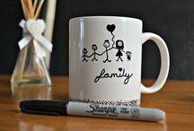 Mugs DIY- sharpie