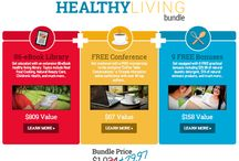 healthy living / by Body Love Experiment by BraveGirl Coaching