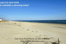 3 Bedroom Oceanfront Home for Sale in Carova NC | 1615B Sandfiddler Rd / The panoramic views of beach are spectacular. Amazing sunrises and sunsets make you feel like you are in paradise. You get the feeling of being on your own secluded desert island with all the pleasures of home with this fresh, breezy one floor living. There are not many areas in the country where you can buy beach properties like this at an affordable price, so buy this beach home now by calling me, Jean-Paul Peron, at 252-564-9390.