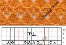 vzory pletení,háčkování