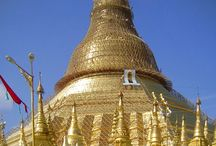 Gold leaf & sacred places or events / Gold leaf is used since a very long time for special sacred events or for decorating sacred buildings or monuments.