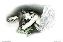 ANGELI in ARTE / Pittura scultura in tema di Angeli