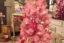 Colored Christmas Tree Inspiration / by The Spearmint Blogs
