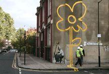 Street Art/Graffiti/Murals / by Jennifer Isham Zarrinnam