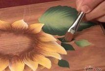 pintura a mano alzada