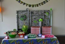 Teenage Mutant Ninja Turtle Party! / My sons 6th birthday party!! / by Sarah Haines