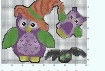 Cross stitch - plastic canvas