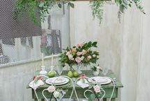 small table setting