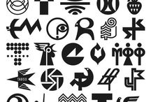 Logos and shapes