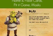 shrek birthday party ideas