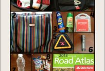 Road trip / Items pack for long trip with kids