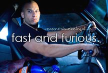 Fast and Furious / Just as addicted to these movies as Twilight. Join in my weirdness. Ride or die! / by Bridget Howgate