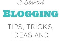 Blogging Tips & Tricks + Blogging Resources / Helpful Blogging Tips and Tricks, Blogging Resources, and Blog Inspiration.