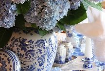 Blue and White / Blue and white