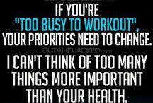 Fitness motivation  / by Zakiya Leavell