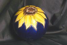 Sunflowers & Grapevines