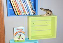 Hunters dinosaur room