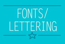 ~Fonts / Lettering~ / Fonts and lettering